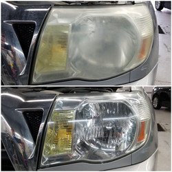 Toyota Tacoma Headlight Restoration