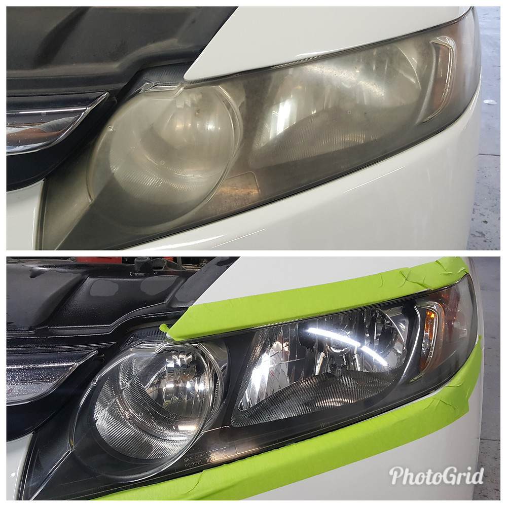 Head light restoration in Fort Collins, Colorado
