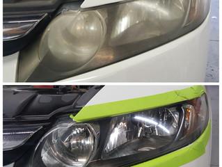 Save on Headlight Restoration in October!