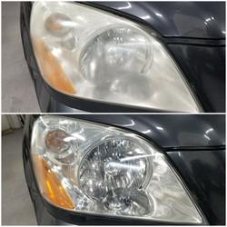 Honda Pilot Head Light Restoration