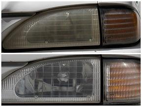 Mustang Cobra Head Light Repair Restoration
