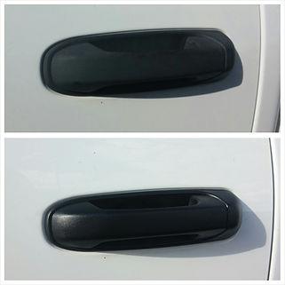 Plastic Restoration on a Dodge Ram Door Handle