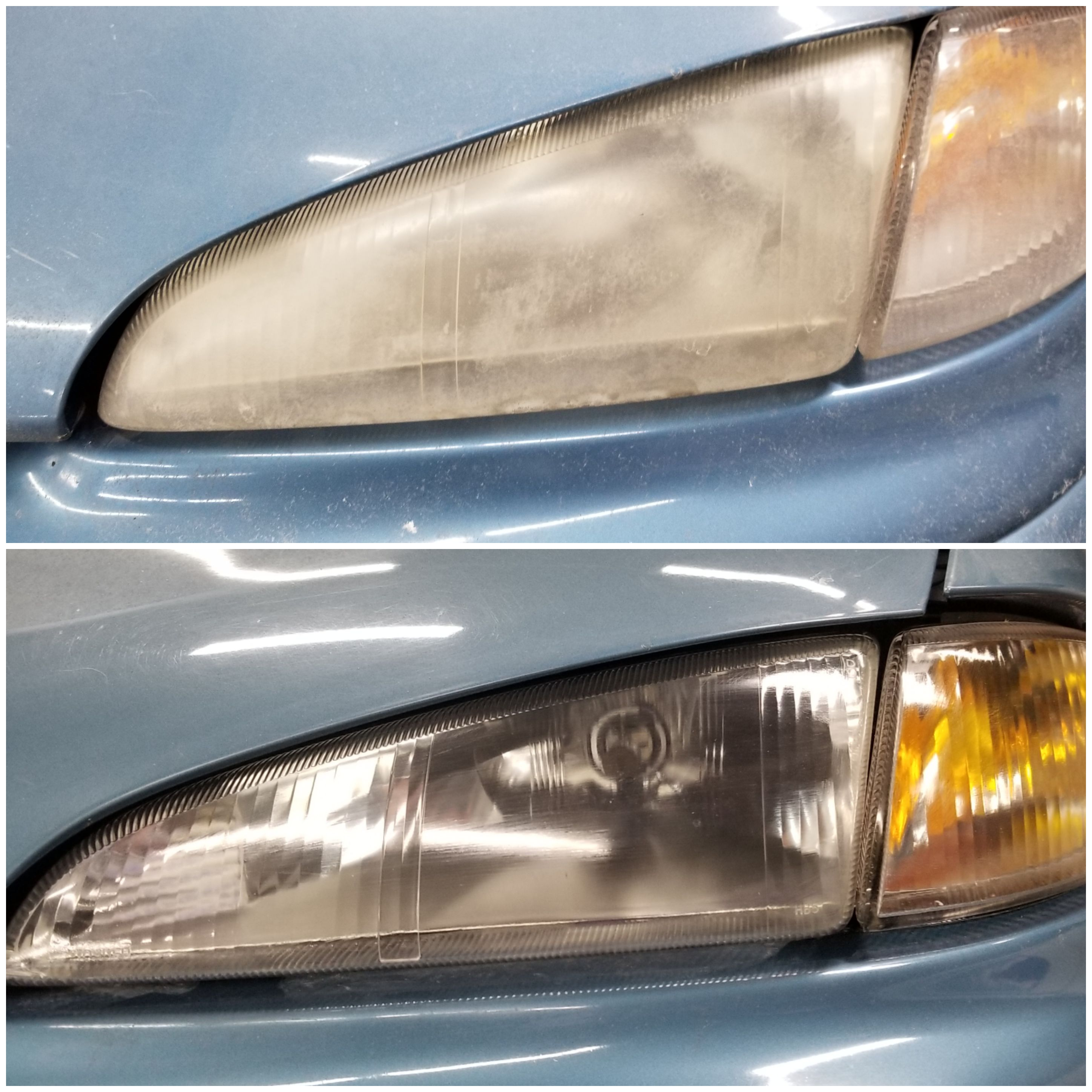 Dodge Intrepid Head Light Resto