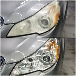Subaru Outback Head Lamp Restoration