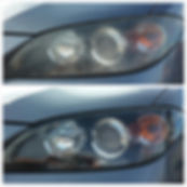 Mazda 3 Head light Restoration