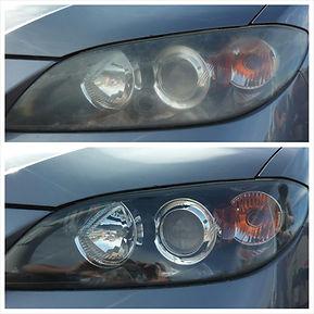 Mazda 3 Head light Restoration