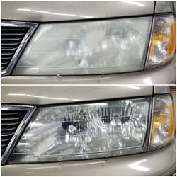 Toyota Avalon Headlight Restoration