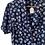 Thumbnail: Robe bleue marine 90s marguerite