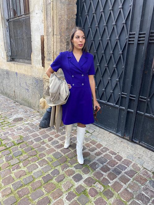Robe 60s violette