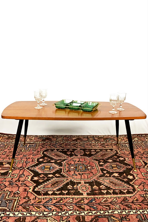 Table basse rectangulaire vintage
