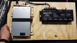 LED driver and power pack mounted