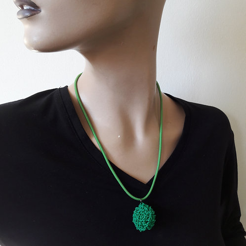 1 form green - necklace small