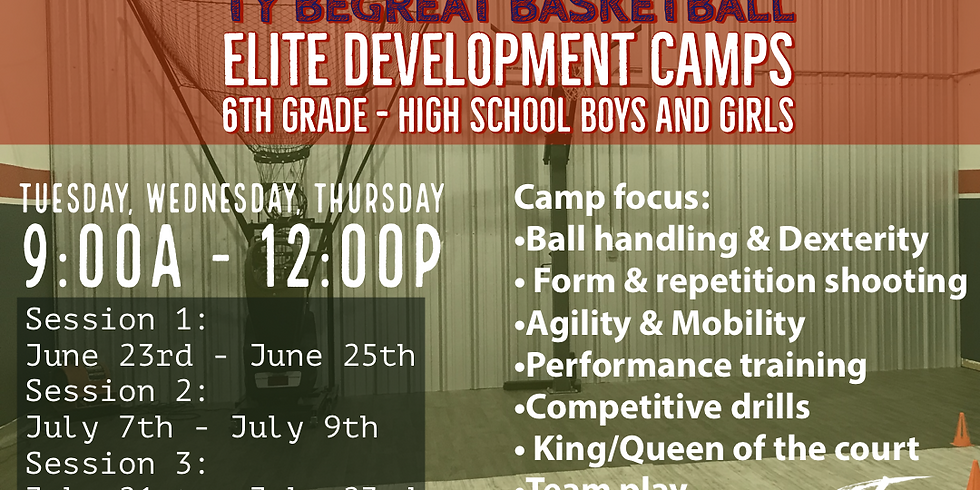 Ty BeGreat Basketball Eliite Development Camps