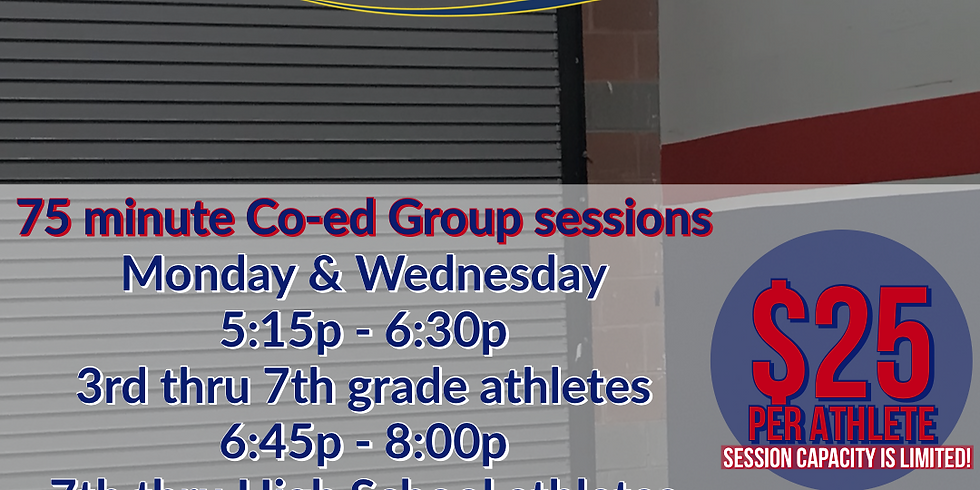 75 minute Co-Ed Group Sessions