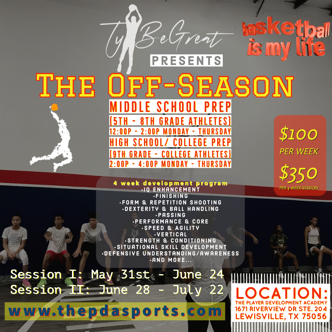 Ty BeGreat's The Off-Season (MS-Prep)