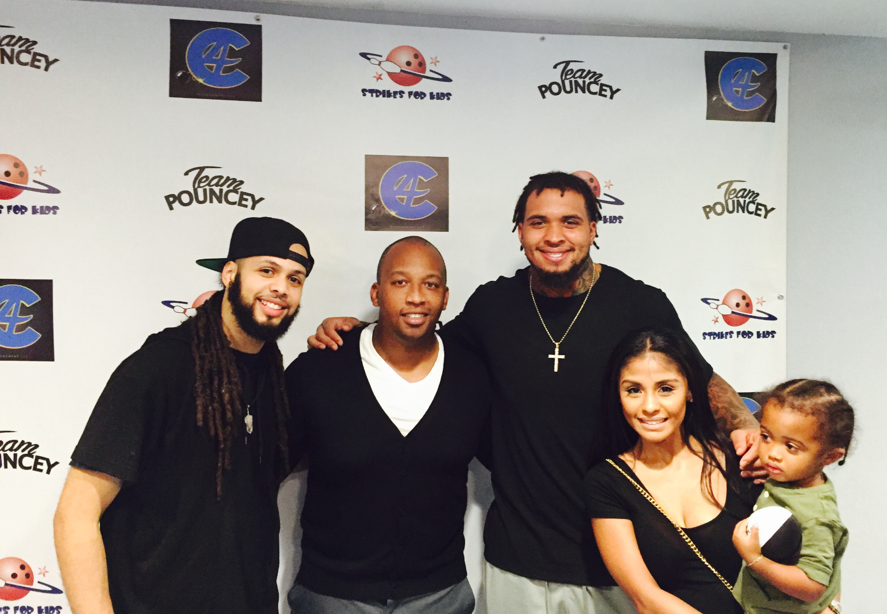 Mike Pouncey Bowling Event