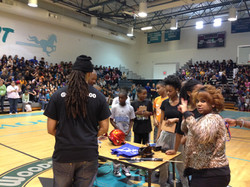 Meadow Woods Middle School Rally