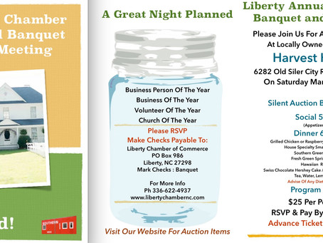 Liberty Chamber Annual Banquet and Meeting (with silent auction)