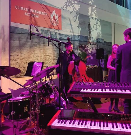 Jazz für`s Klima - Jazzguys bei Greenpeace