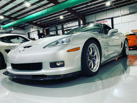 C6 ZR1 Wheel Fitment Issues