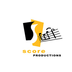 Logo for a music company