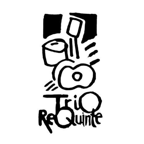 Logo for Requinte Trio, a jazz latin combo.