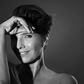 Hair and makeup. Photographer Janis Wilkins