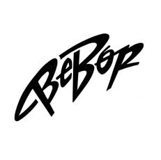 BeBop lettering