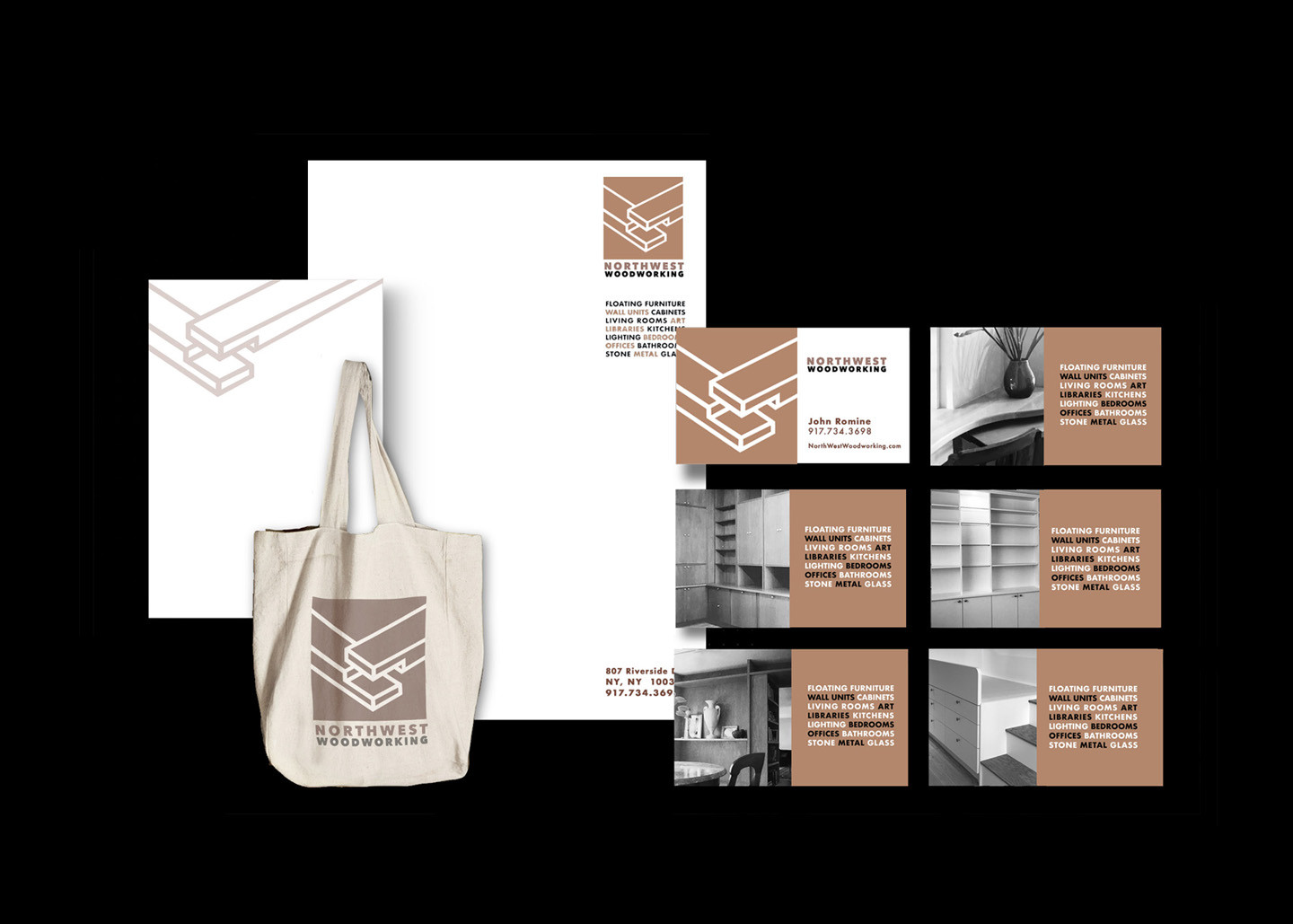 Logo, letterhead, cards and  product rollout.