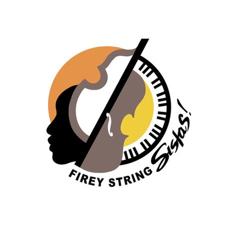 Logo for a female jazz quartet