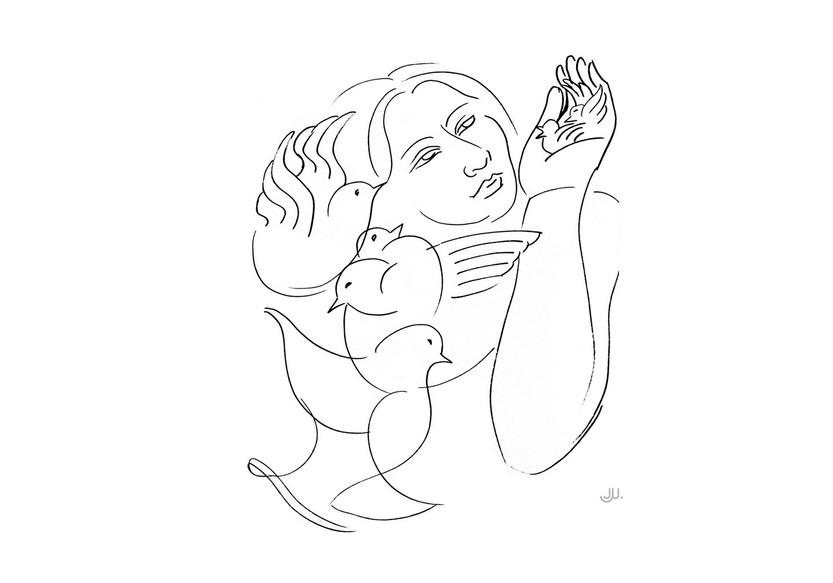 Mi Sueno - Mujer con pajaros