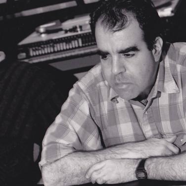 Don in the studio