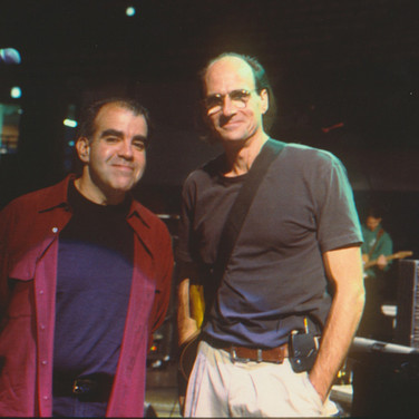 Don with James Taylor