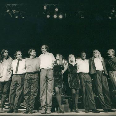 James Taylor tour 1990