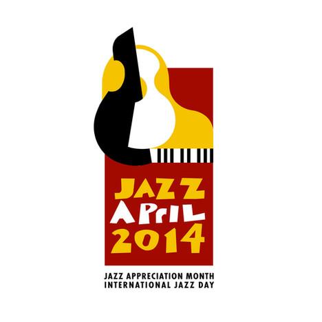 Logo for International Jazz Day used across all media.