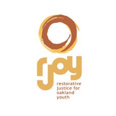 Logo for a restorative justice center in Oakland CA