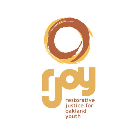 Logo for a restorative justice center in Oakland CA