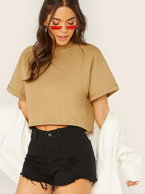Reverb Tap Co. Boxy Cropped Tee