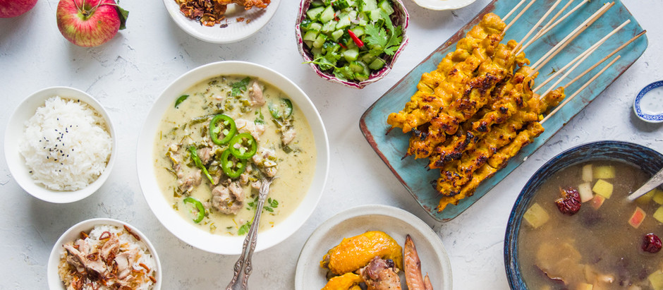 RECIPE | ONE CHICKEN FIVE ASIAN DISHES