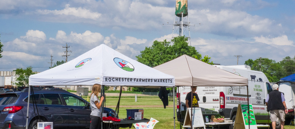 KTTC: Rochester farmer's market supports local produce and products