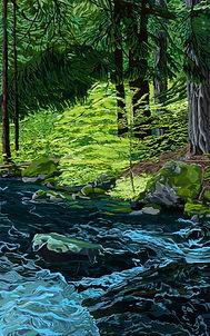 Mt. Adams: Rushing Water