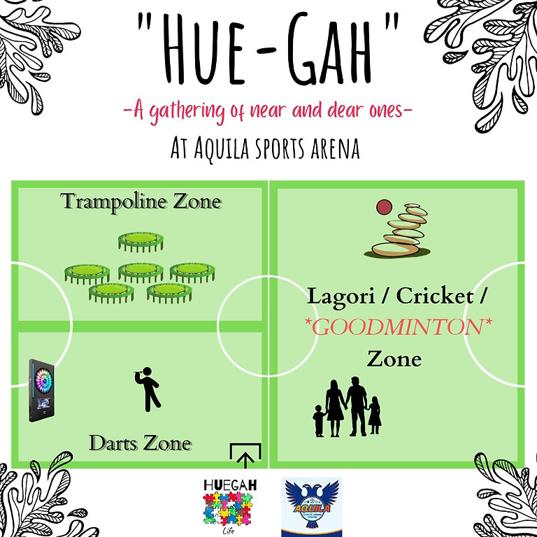 'Hue-Gah' - A Day of Family Play