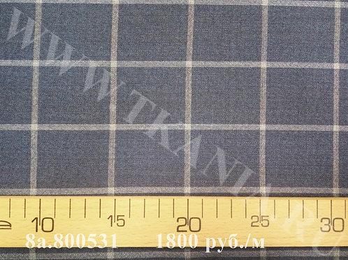 Шерсть костюмная 8а.800531 95% шерсть 5% альпака 152 см Италия