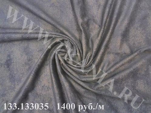 133.133035 Замша на трикотаже 100% ПЭ Ширина 145 см