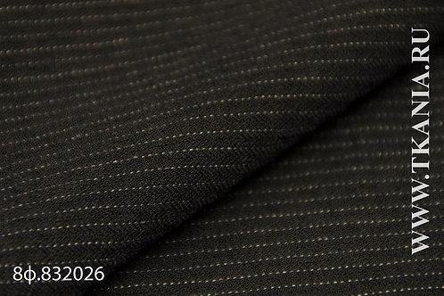 8ф.832026 Шерсть костюмная Состав 56% шерсть 20% вискоза 24%пэ150 см