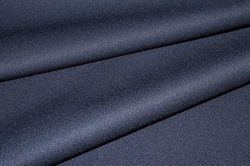 8б.810090 Шерсть габардин темно-синяя Ширина 154 см 64%шерсть 34% пэ 2% эл