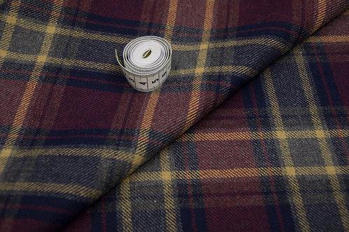 8ш/822047 Ткань костюмная  Ширина 160 см65 % шерсть 35 % пэ