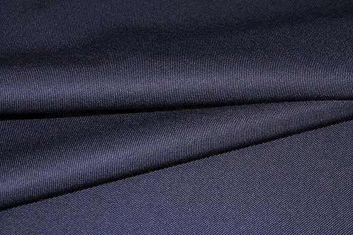 8б.810087 Шерсть габардин темно-синяя Ширина 154см Состав 55 %шерсть 45% пэ