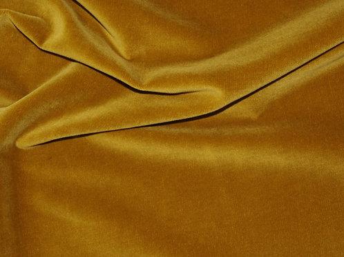 Ткань Бархат горчичный (100% хлопок, Германия)