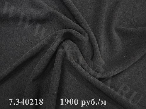 7.340218 Ткань пальтово-костюмная Ширина 150 см 90% шерсть 10% пэ м Италия